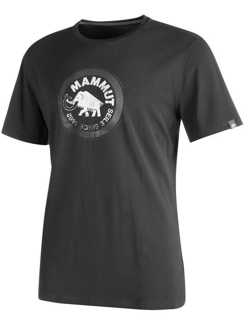 Mammut Seile t-shirt Heren grijs/zwart